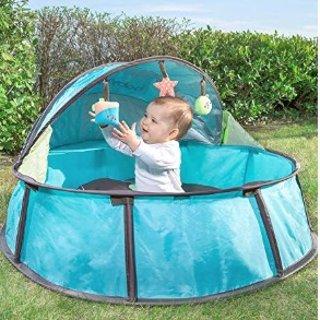 $34.61(原价$69.99)+包邮史低价:Babymoov 可折叠高级婴儿游戏床,带UPF 50+ 防晒顶蓬