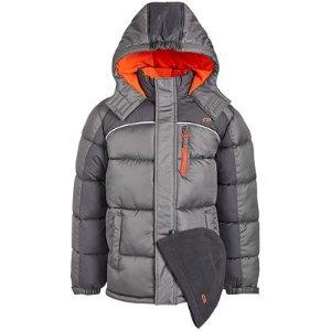 $17.99macys.com 儿童冬季保暖外套特卖 寒冬保暖少不了