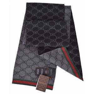 Gucci100%羊毛围巾