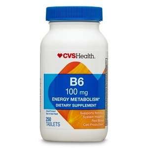 Vitamin B6 Tablets 100mg, 250CT