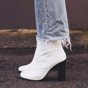 Nyx 白色高跟靴