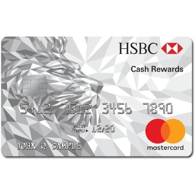 Earn an Introductory 3% Cash Back on all purchases in the first 12 months from Account opening, up to the first $10,000 in purchasesHSBC Cash Rewards Mastercard® credit card