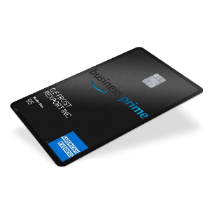 Get a $125 Amazon.com Gift Card. Terms Apply.Amazon Business Prime American Express Card