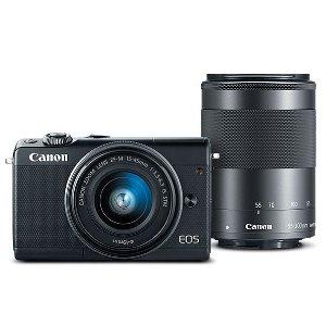 $499 (原价$949.99)Canon EOS M100 + 15-45mm + 55-200mm 无反相机套装