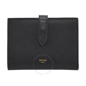 仅$389.99(原价$720)手慢无:Celine 黑色折叠钱包 限时额外$100优惠