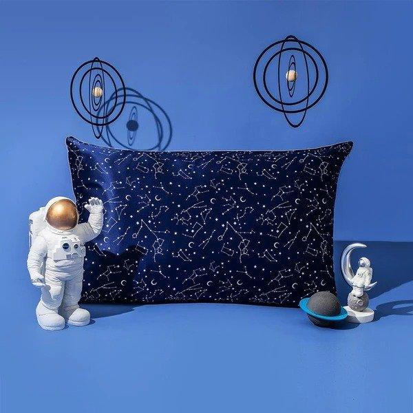 19姆米星空印花真丝枕套 Standard尺寸