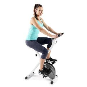 $148.88(原价$263)Impex Marcy 可折叠磁阻健身自行车