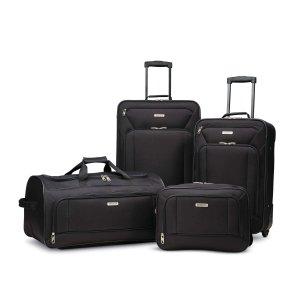 3件套$49 4件套仅$59American Tourister 牛津布软面行李箱套装 多色可选