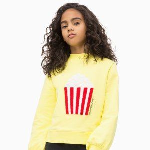 低至3折 + 两件包邮Calvin Klein 儿童服饰热卖,设计简洁细节点睛