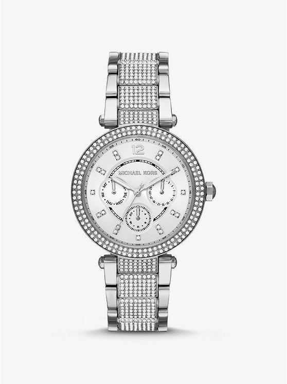 Parker Pave镶钻手表