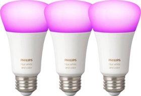 $99.99 三个Philips Hue A19 彩色智能灯泡