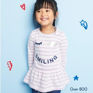 Dealmoon CNY Exclusive! Up to 60% Off + Extra 20% Off $40 800+ New Arrival @ OshKosh BGosh