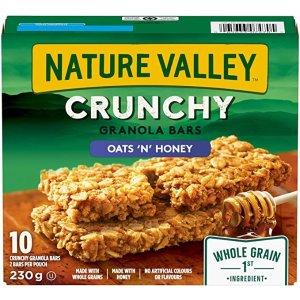 NATURE VALLEY 能量棒 燕麦蜂蜜味 210g