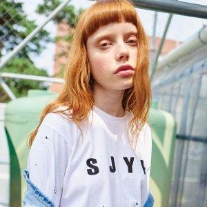 低至4折 吸睛美衣再降价 $65起折扣升级:SJYP 设计款潮衣热卖 承包爱豆衣橱的潮牌