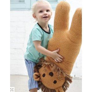 6折+额外7.5折Albetta 可爱手工玩偶、宝宝服饰热卖 给你一个温暖的抱抱