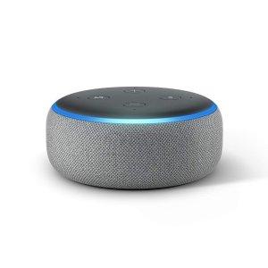 $39.98 (原价$59.98)Echo Dot 3代 x2