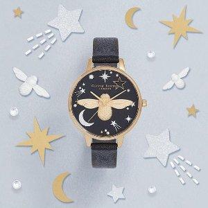 低至5折 手表里的爱丽丝仙境Olivia Burton 超高颜值美表、配饰热卖