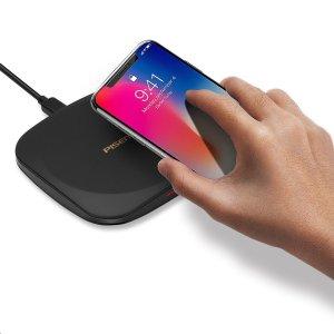 $14.99 超快无线充电让生活更轻松PISEN 无线充电板 支持快充, 提供七重充电保护