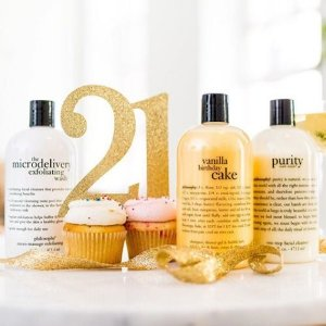 50% Off With Your Favorite Philosophy Shower Gels @ Macys
