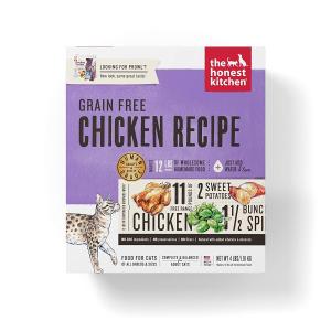 $34.26The Honest Kitchen 人食用级无谷物脱水猫粮 鸡肉味 4磅