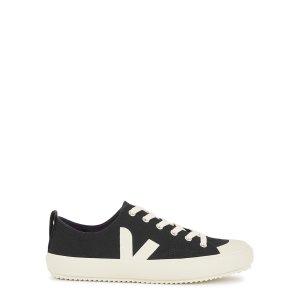 VejaNova black canvas sneakers