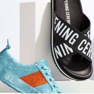低至3折 $59收珍珠拖鞋Opening Ceremony、Valentino、Moschino等大牌美鞋热卖