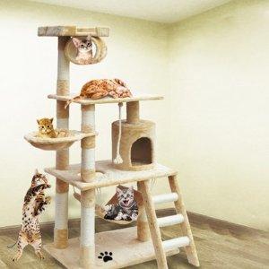 $75(原价$189.99)Groupon 豪华猫爬架限时团购