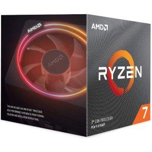 $299.99 送3个月XGP+游戏二选一AMD Ryzen 7 3700X 处理器 带 Wraith Prism LED 风扇