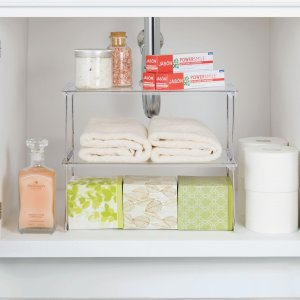 Walmart Mainstays Stacking Storage Shelf $7 88 - Dealmoon