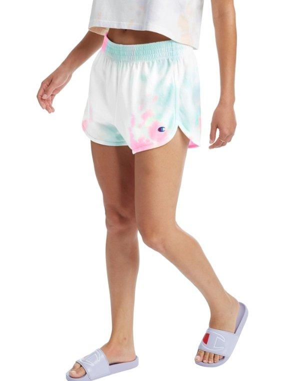 Gym 女士扎染短裤