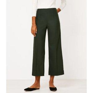 LOFTWide Leg Crop Pants   LOFT