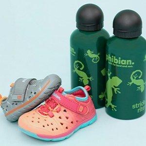 $14.95 + Free Water BottleStride Rite All Phibian Shoes Sale