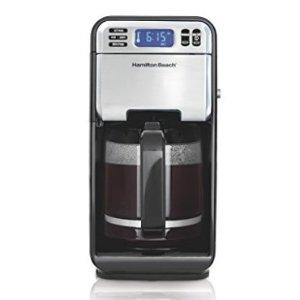 $26.99Hamilton Beach 46205 12-Cup Programmable Coffee Maker