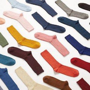 4双$12.9+免邮Uniqlo 封面袜子促销 超多色可选