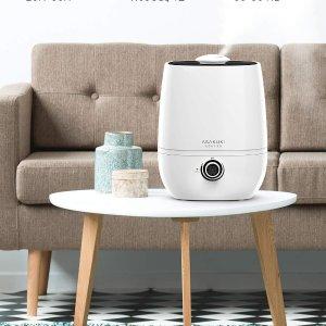 ASAKUKI Cool Mist Humidifier, Large 4L Capacity