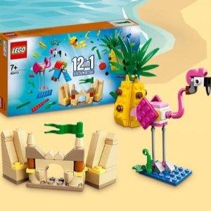 满额送12合1套装Lego 乐高官网7月热卖 米奇米妮、Hedwig猫头鹰新上市