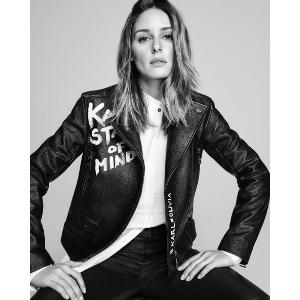 Karl x Olivia 机车夹克