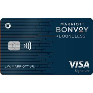 Earn 75,000 Bonus PointsMarriott Bonvoy Boundless™ Credit Card