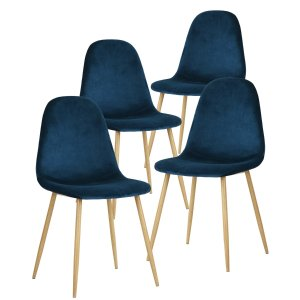 $183.99GreenForest Dining Chairs for Kitchen,Elegant Velvet Back and Cushion, Mid Century Modern Side Chairs Set of 4,Cactus @ Amazon