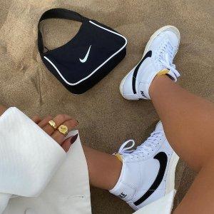 低至4折+内有穿搭图鉴上新:Nike Blazer 精选 街头滑板风必入平底鞋 多款配色可选