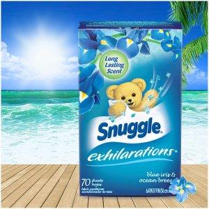 Snuggle Exhilarations 蓝色鸢尾&海洋清风衣物柔顺烘干纸