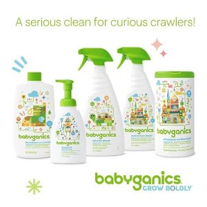 $5 Gift Card with Purchase of $25+Babyganics Items Sale @ buybuy Baby