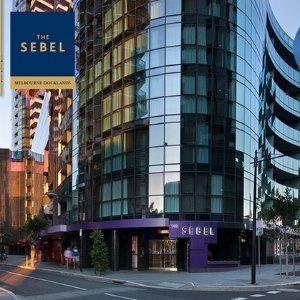 $349 (原价$1062)水疗、桑拿均可使用The Sebel Melbourne Docklands 2人2晚住宿