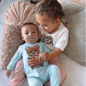 低至5折 €29收小熊背心Moschino 轻奢童装专场热卖 秒变可爱萌宝