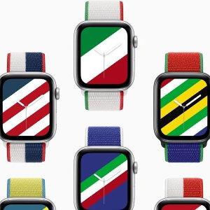 $59收中国红, 同款表盘免费Apple Watch 全新国际版限量表带, 40/44mm 运动针织回环式