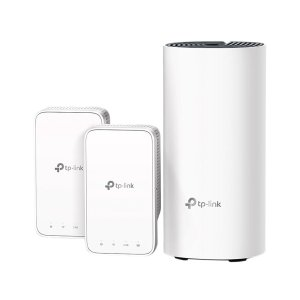 TP-Link Deco Whole Home Mesh WiFi System - Seamless Roaming, Adaptive Routing, Compact Plug-in Design, Up to 4, 500 Sq. ft (Deco M3 3-Pack)