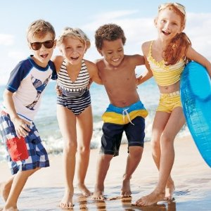 Save Up to 50%Swimming + Accessories Sale @ Hanna Andersson