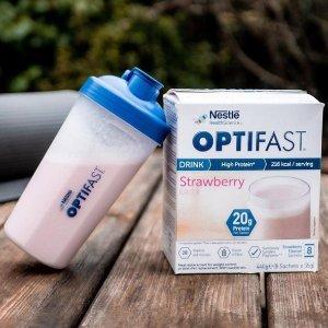 全场8折Optifast 雀巢代餐奶昔热促 6周减脂计划代餐盒 专属定制口味丰富