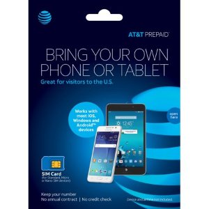 ATT预付手机卡