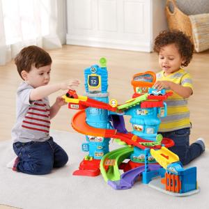 $24 (原价$44.99)史低价:VTech Go! Go!  警车追击轨道玩具套装